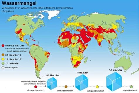 900 Millionen Menschen haben keinen Zugang zu sauberem Trinkwassewr. Konzerne verschärfen die Lage, weil sie Trinkwasserquellen privatisieren. Ein Artikel der Welt zum Welt-Trinkwassertag.