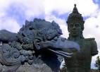 Vishnu und Garuda