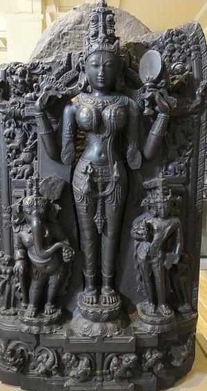Statue der Göttin Lalita