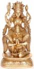 Vishnu reitet auf Garuda