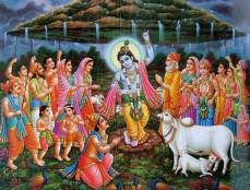 Tanzender Krishna