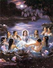 Krishna liebt die Frauen - und die Frauen ihn