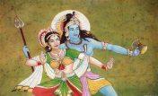 Tanz des göttlichen Paares