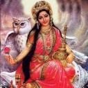 Lakshmi - hier mit Eule als Reittier