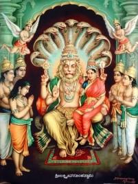 Narasimha mit Lakshmi