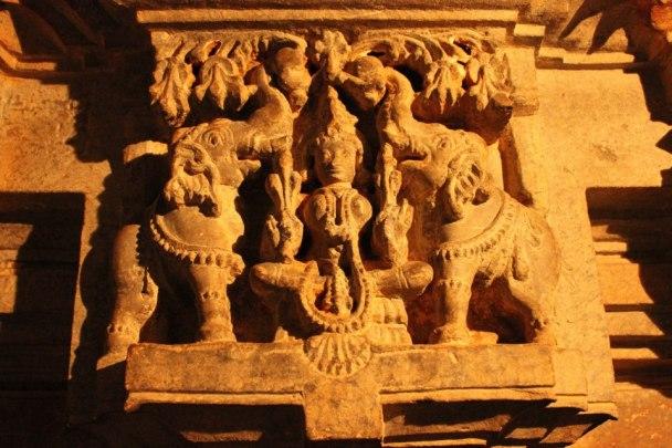 Gajalakshmi,Kedaresvara Temple, Belligavi,Karnataka