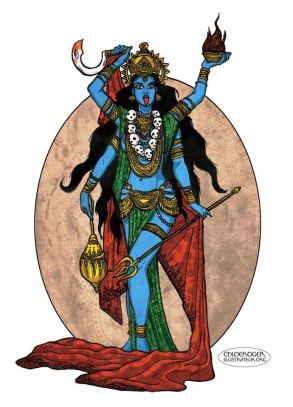 Kali The Ocean of Blood at the beginning and end of Kali Yuga