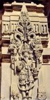 Lord Brahma at Belur