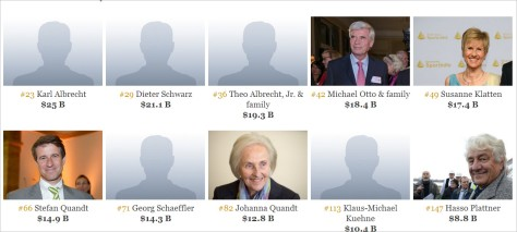 Die reichsten Menschen Deutschlands