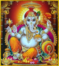 Ganesha gehört zu den beliebtesten Göttern