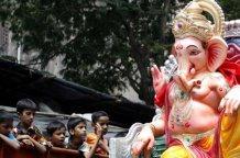 Ganesha-Fest mit Umzug