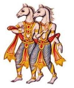 Ashvins, die vedischen Götter des Morgens