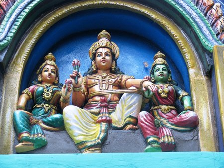 Lord Sashta is on par with other Vedic such as Brahma, Vishnu, Shiva, Indra and Agni