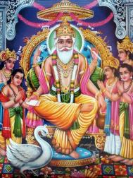 Rig Veda describes Vishvakarma as the 'divine creator of the universe'
