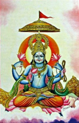 Varuna is a minor Vedic deity
