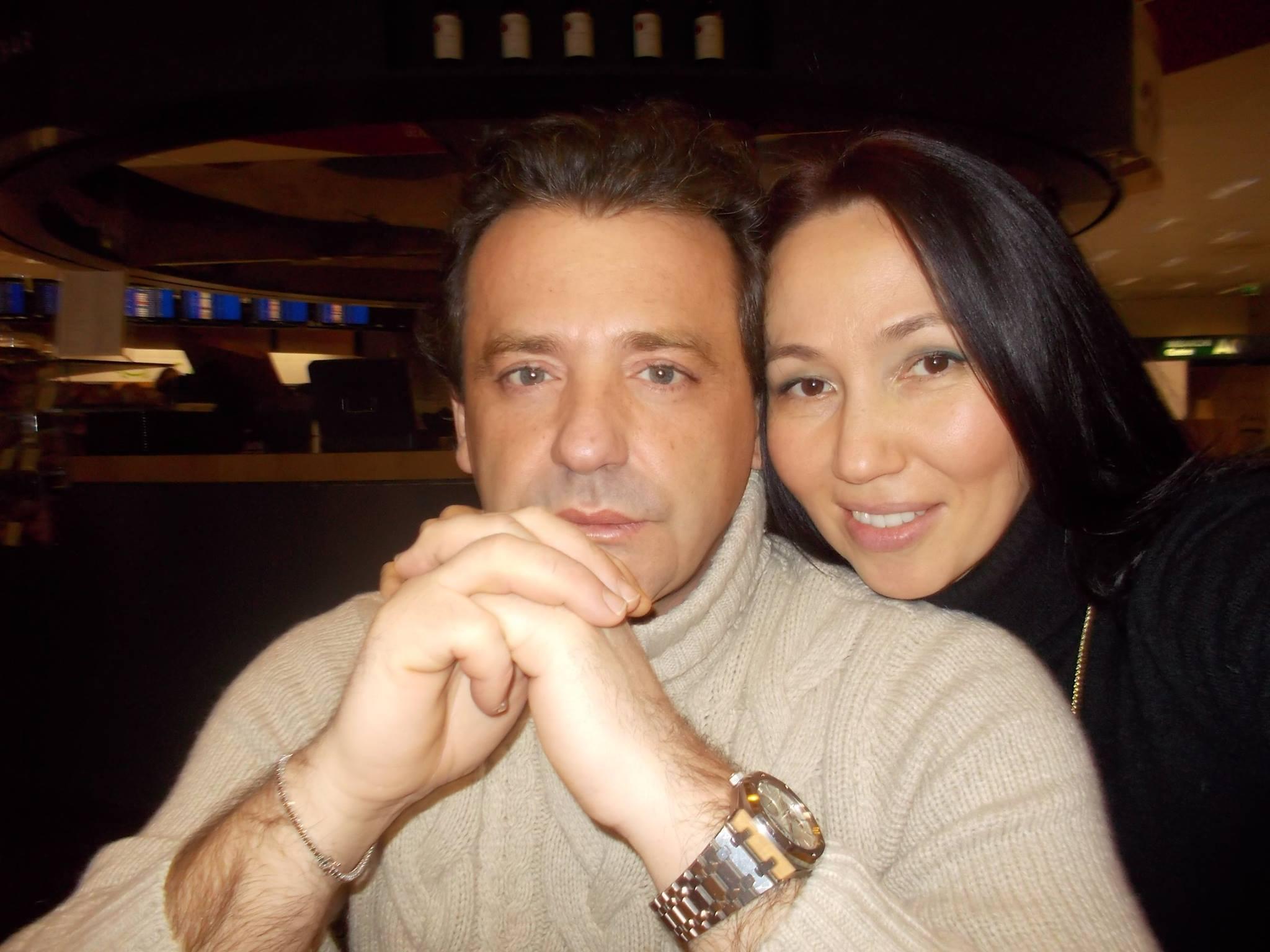 Marco Russo mit Yulia Shesternikova