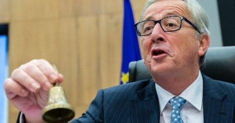 Jean-Claude Juncker beklagte sich über das griechische Referendum, das er als